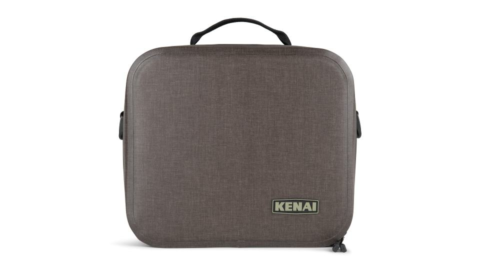 insulated lunch box front view