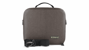 lunch box with shoulder strap front view